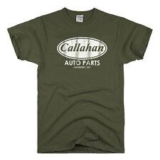 Callahan Auto Parts vintage movie tommy boy fat guy coat retro funny T-Shirt