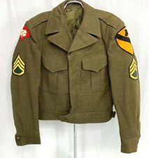 1948 Us Army 1st Cavalry Enlisted Ike Jacket