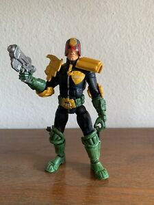 Marvel Legendary Heroes Judge Dredd Figure Loose