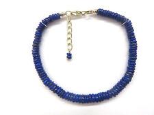 Lapis Lazuli Armband 20-22 cm 925 Silber Lapis Bracelet Nr. 4754