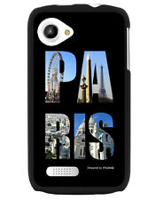 Coque Noire Cink Slim Impression Paris City Art
