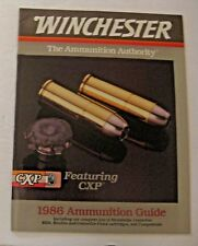 Nos Vintage 1986 Winchester Firearms Gun Ammunition Guide Manual Catalog