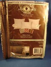 "Allen + Roth Pillow Cover Black & White Floral 18"" x 18"" Brand New #0006821"