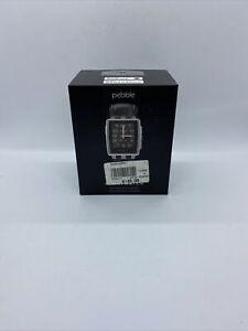 Pebble Steel Smartwatch 401SLR - Needs New Battery