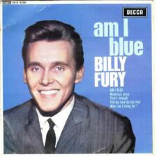 BILLY FURY AM I BLUE EP, WONDROUS PLACE*THAT'S ENOUGH + 3, 1963 DECCA DFE 8558