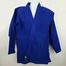 Fuji Kimono Gi BJJ Jiu Jitsu Judo Size 4 Blue Top Only