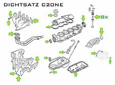 Dichtsatz Opel C20NE , Vectra A, Calibra 2.0 115PS  auch 4x4 / Frontera A