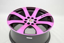 17 Drift pink wheels rims Integra Civic Rio5 Accord Prius C Escort 4x100 4x114.3