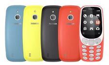 Nokia 3310 2017 Blue Black Yellow Red Dual Sim Single Sim Unlocked 3G Smartphone