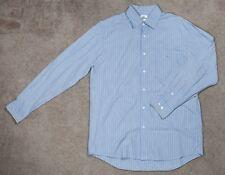 Lacoste Men's Striped Long Sleeve Button Down Shirt Size 40 RN87551