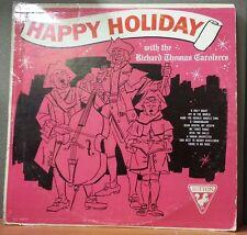 HAPPY HOLIDAY Richard Thomas Caroleers Vinyl LP Music Record Album