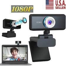 Usb Webcam Video Camera Web Cam With Mic For Computer Pc Desktop Laptop Hd 1080P