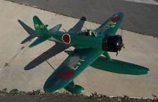 "Japan Mitsubishi A6M Zero Float Wwii 60"" Giant Scale Airplane"