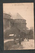 France 1919 post card Brest Archie Johnson to Eldora Breneman Murphysboro IL