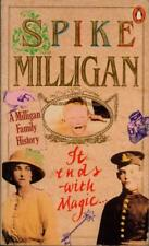 It Ends with Magic: A Milligan Family Story(Paperback Book)Spike Millig-VG