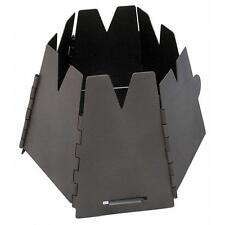 Vargo Outdoors Titanium Hexagon Wood Stove Black T-415