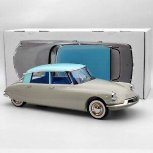 Norev 1:12 Citroen DS 19 1956 Gris rose & Turquoise 121566 Diecast Model Limited