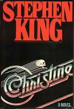 BCE First Edition Christine by Stephen King (1983, Hardcover)