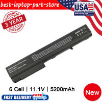Battery for HP Compaq nw9440 nx7400 nx8200 nx8220 nw8440 Notebook 8510p 5200mAh
