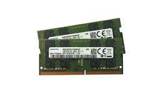 Samsung 32GB (2x16GB) DDR4 PC4-21300 2666MHZ 260 Pin Sodimm 1.2V CL19 portátil ram