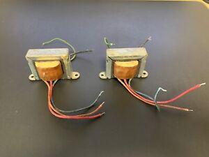 Pair Magnavox Vintage Tube Amp Audio Output Transformers 6V6GT PP