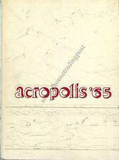 High School Yearbook Scotia New York Scotia-Glenville High School Acropolis 1965