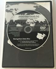 2004 2005 2006 2007 2008 2009 Cadillac XLR Navigation DVD Map East 8.00 Update