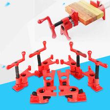 """Heavy Duty 4 Set 3/4"""" Gluing Pipe Clamp Set Metal Abrazaderas Para Carpintería"""