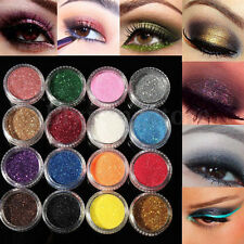 Eye Shadow Cosmetics Color Glitter Powder Eyeshadow Makeup Salon Set 16 Mixed
