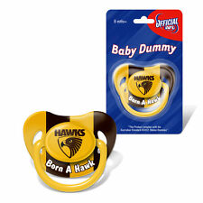 Hawthorn Hawks AFL Infant Baby Dummy Pacifier New Born Baby Shower Gift