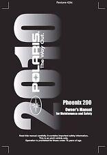 Polaris Owners Manual Book 2010 Phoenix 200