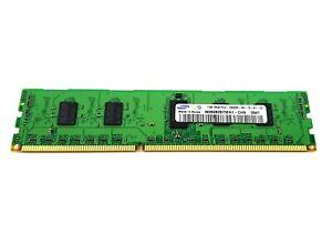 Samsung 1GB 1Rx8 PC3-10600R R DDR3-1333MHz Dimm Desktop Memory M393B2873EH1-CH9