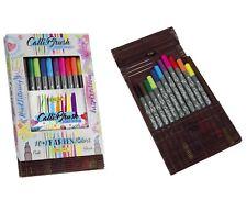 ONLINE Kalligraphie- / Filzstifte Pinsel Stift Calli.Brush 10+1 Farben in Bambus