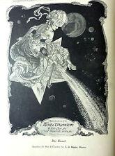 """Moet & Chandon """"Der Komet"""" von F.de Bayros aus 1910 / b"""