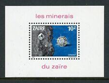 Zaire Scott #1110 Mnh S/S Minerals Cv$10+