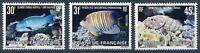 franz. Polynesien MiNr. 343-45 postfrisch MNH Fische (Fis432