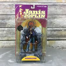 Janis Joplin on Stage Singing McFarlane Toys Action Figure Musician New in Box