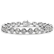 New Genuine Ti Sento Sterling Silver CZ set Tennis Bracelet 2675ZI £235
