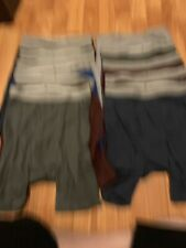 12 Pairs Of Mens Boxer Briefs Size S Repackaged
