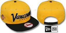 Canucks 'SNAP-IT-BACK SNAPBACK' Gold-Black Hats by New Era