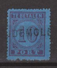 P2 Port nr. 2 TOP CANCELl OUDEMOLEN NVPH Netherlands Nederland due portzegel