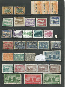 CHINA MINT & USED STAMP SELECTION (D)