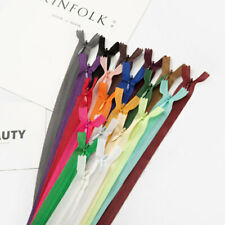 10pcs Muti-color Invisible Nylon Coil Zippers Tailor Sewing Craft Wallet Zipper