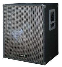 Ibiza Aktiver 38cm PA Subwoofer Bi-amp 800w