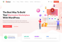 Dokan Pro Complete Multivendor Wordpress Theme & Plugin (All Modules Included)