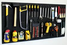 PEG BOARD & HOOK KIT- PEGBOARD GARAGE TOOL STORAGE 50pc