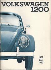 VW   KÄFER  1200  CABRIOLET  LIMOUSINE   1966   Betriebsanleitung   Handbuch  BA
