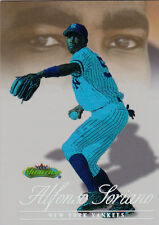 1999 Flair Showcase Alfonso Soriano LEGACY COLLECTION Rookie #/d 20   Rare!