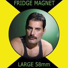 FREDDIE MERCURY QUEEN 58mm Round Fridge Magnet #CD11