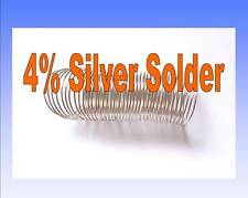 Great for RC - 4% Silver Content Solder One Metre Length